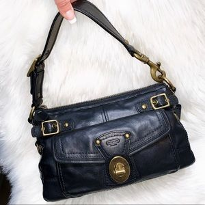 Authentic Coach Black Leather Legacy Purse